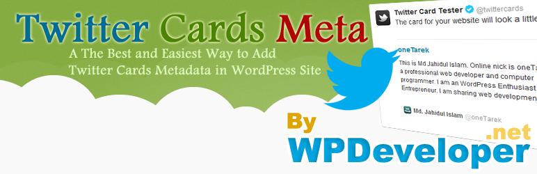 twitter cards meta wordpress plugin
