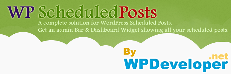 wp scheduled posts plugin