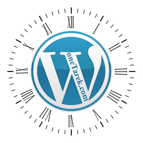 WordPress Clock